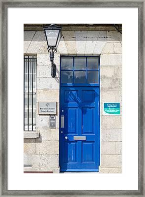 Harbour Master's Door Framed Print