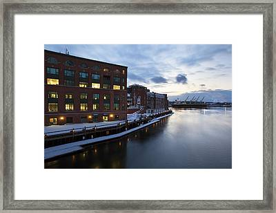 Harbour Place Framed Print