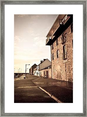Harbour Framed Print