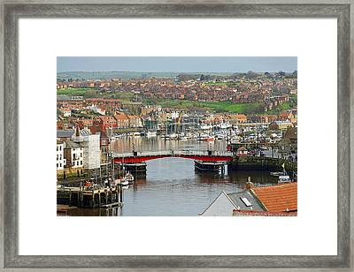 Harbour View - Whitby Framed Print