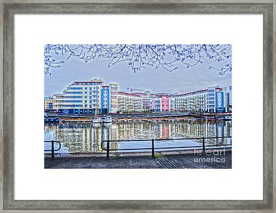 Harbourside Flats Framed Print