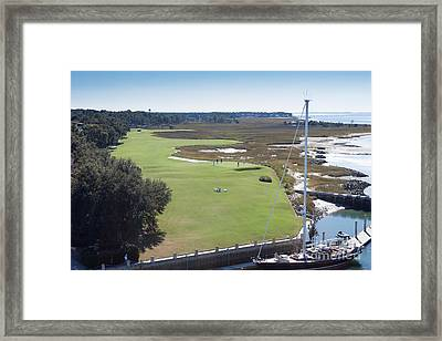 Harbourtown Golf Course 18th Hole Framed Print