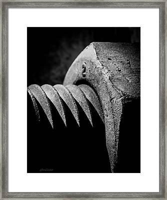 Hard 2 Framed Print