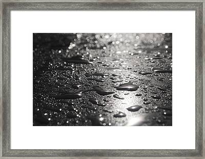 Framed Print featuring the photograph Hard And Soft by Miguel Winterpacht