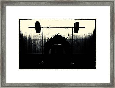 Hard Core Framed Print by Robert Krajnc