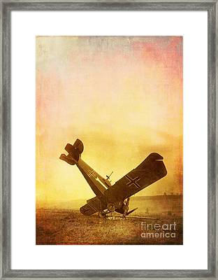 Hard Landing Framed Print by Edward Fielding