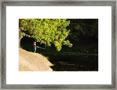 Hard Light - Featured 3 Framed Print