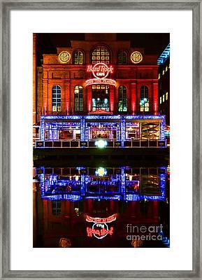 Hard Rock Cafe Baltimore Framed Print by Olivier Le Queinec