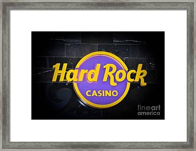 Hard Rock Framed Print by Gary Keesler