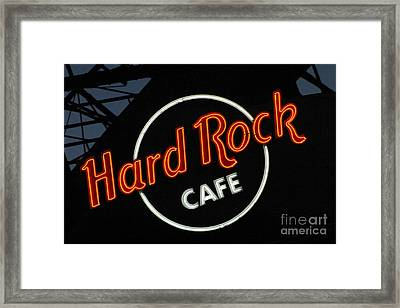 Hard Rock - St. Louis Framed Print by Gary Gingrich Galleries