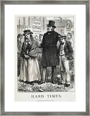 Hard Times Framed Print by British Library