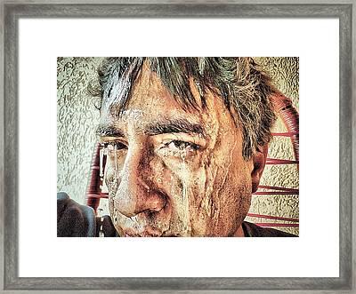 Hard Work Framed Print by Beto Machado