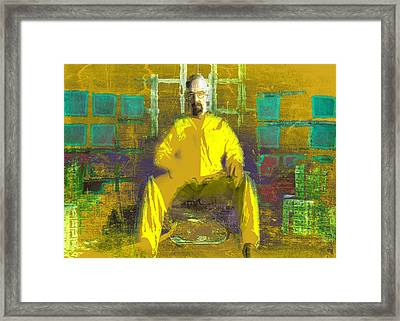 Framed Print featuring the digital art Hard Work by Brian Reaves