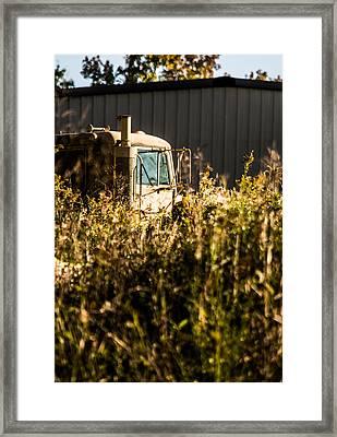 Hard Work On The Farm Framed Print