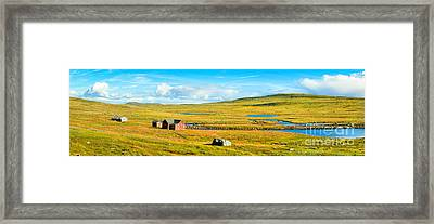 Hardangervidda In Norway Framed Print by JR Photography