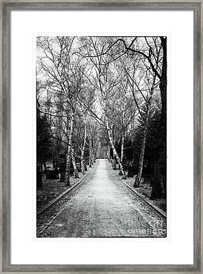 Hardest Walk Framed Print