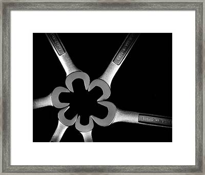 Hardware Bouquet Framed Print