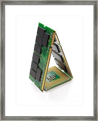 Hardware House Framed Print by Sinisa Botas