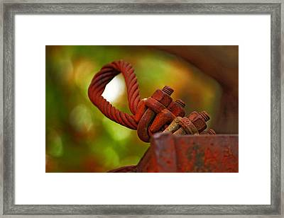 Hardware Framed Print