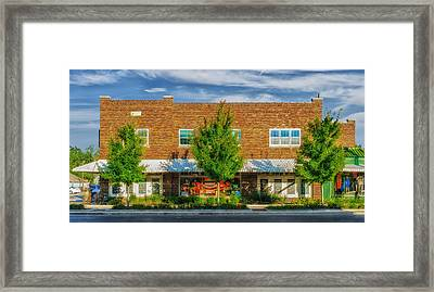 Hardware Store - Franklin Tennessee Framed Print by Frank J Benz