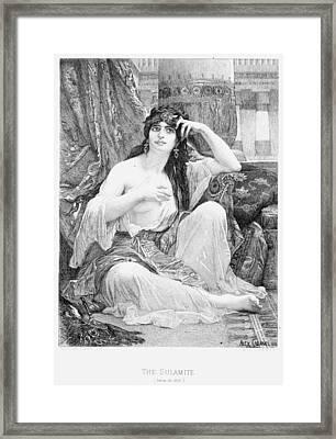Harem, 1876 Framed Print by Granger