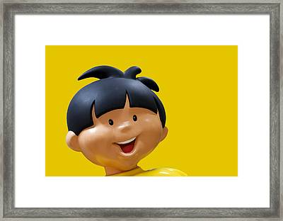 Haribo Boy Framed Print