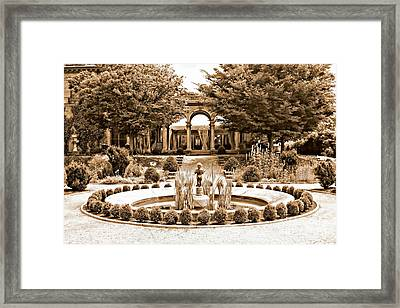 Harkness Estate Framed Print
