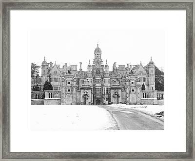 Harlaxton Manor Framed Print