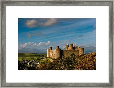 Harlech Castle Framed Print by David Ross
