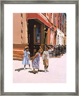 Harlem Jig Framed Print by Colin Bootman