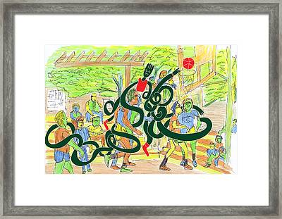 Harlem-me Vs Me By Will A.k Framed Print by Willhemus Ardylles