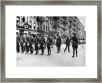 Harlem Parade, 1924 Framed Print by Granger