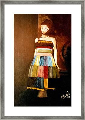 Harlequeen Framed Print by Daniele Zambardi