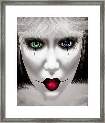 Harlequin Framed Print by Bob Orsillo