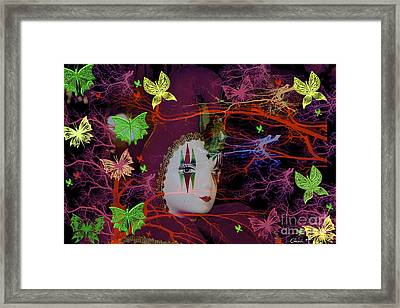 Harlequin Framed Print