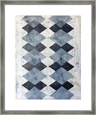 Harlequin Series 1 Framed Print by Julie Niemela