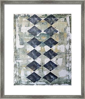 Harlequin Series 2 Framed Print by Julie Niemela