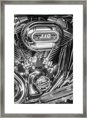 Harley Davidson 110 Framed Print