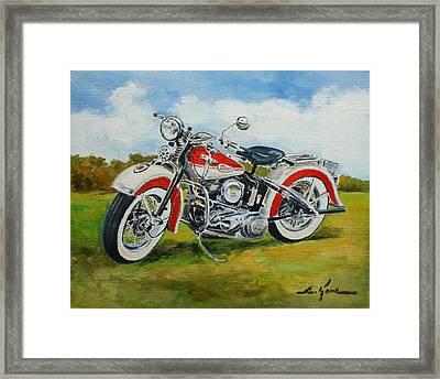 Harley Davidson 1943 Framed Print
