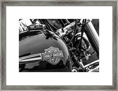 Harley Davidson. Framed Print