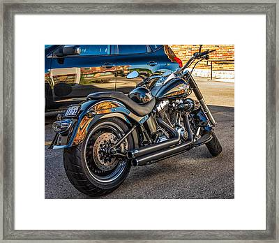 Harley Davidson Framed Print by Steve Harrington