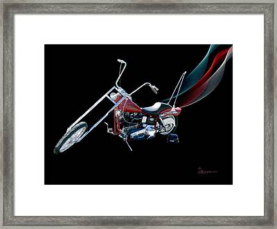 Harley Framed Print by EricaMaxine  Price