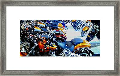 Harley Heaven Framed Print by Carol Bono
