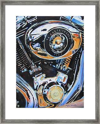 Harley Heaven Framed Print