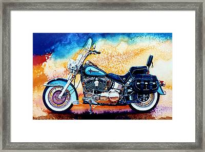 Harley Hog I Framed Print by Hanne Lore Koehler
