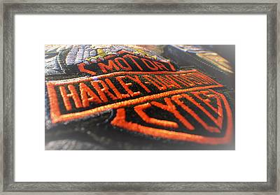 Patch Work Framed Print