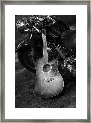 Harley's Music Framed Print