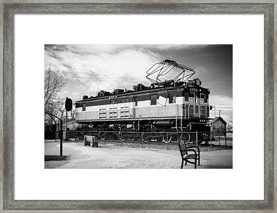 Harlo Train Framed Print by Paul Bartoszek