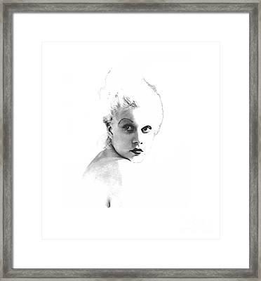 Harlow #4 Framed Print by Maureen Tillman