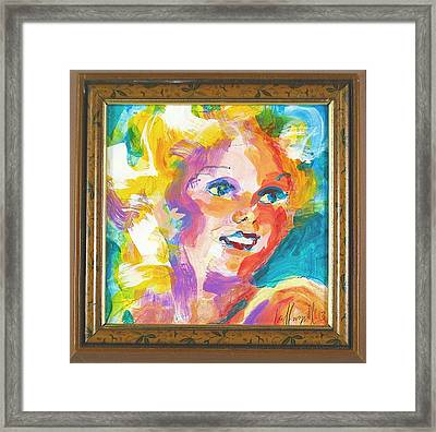 Harlow Framed Print by Les Leffingwell